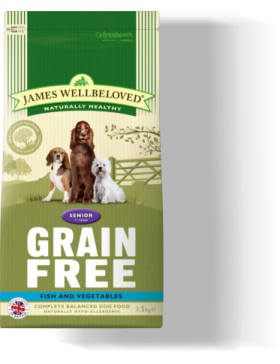 Fish Grain Free Senior Dog