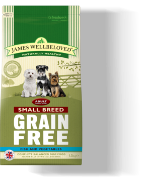 Fish Grain Free Small Breed Adult