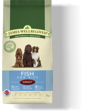 James Wellbeloved Fish & Rice