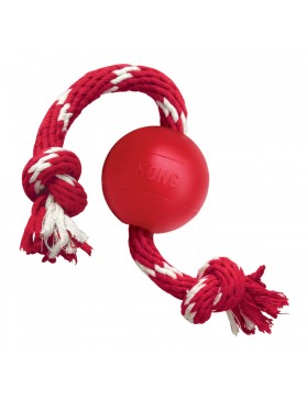 KONG Ball w/Rope Small