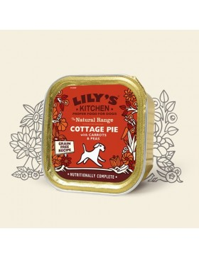 Lily's Kitchen Cottage Pie With Carrots & Peas