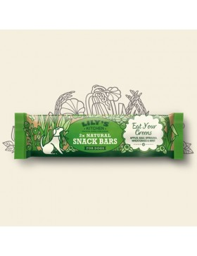Lily's Kitchen Eat Your Greens Natural Snack Bar