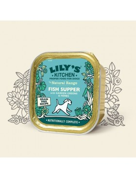 Lily's Kitchen Fish Supper With Garden Greens & Herbs