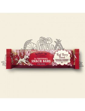 Lily's Kitchen Red Berry Boost Natural Snack Bar
