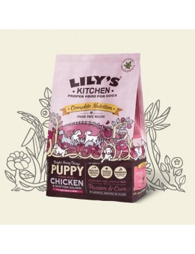 Puppy Free Run Chicken & Salmon Dry Food