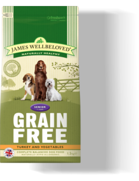 Turkey Grain Free Senior Dog