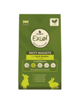 Burgess Excel Adult Rabbit Nuggets with Mint,