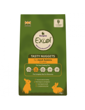 Burgess Excel Adult Rabbit Nuggets with Oregano, 2kg