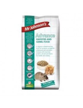 Mr Johnsons Advance Hamster & Gerbil, 750g