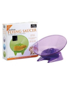 Small 'N' Furry Flying Saucer Wheel