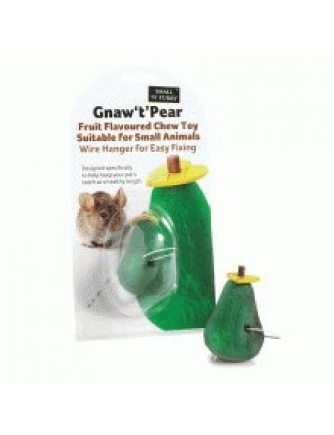 Small 'N' Furry - Gnaw T Pear