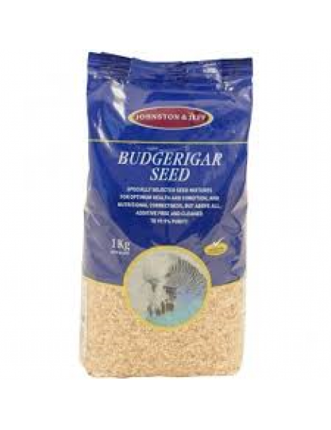 Johnston & Jeff Budgerigar Food, 3kg